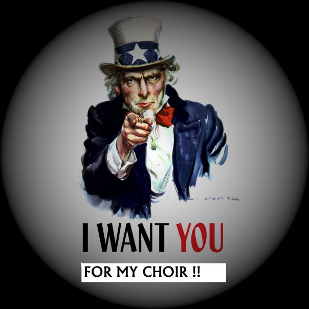 Non riesci a trattenerti dal cantare? Non esitare: contattaci!!