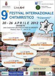 """9° Festival Chitarristico Internazionale """"P.Giannetti"""