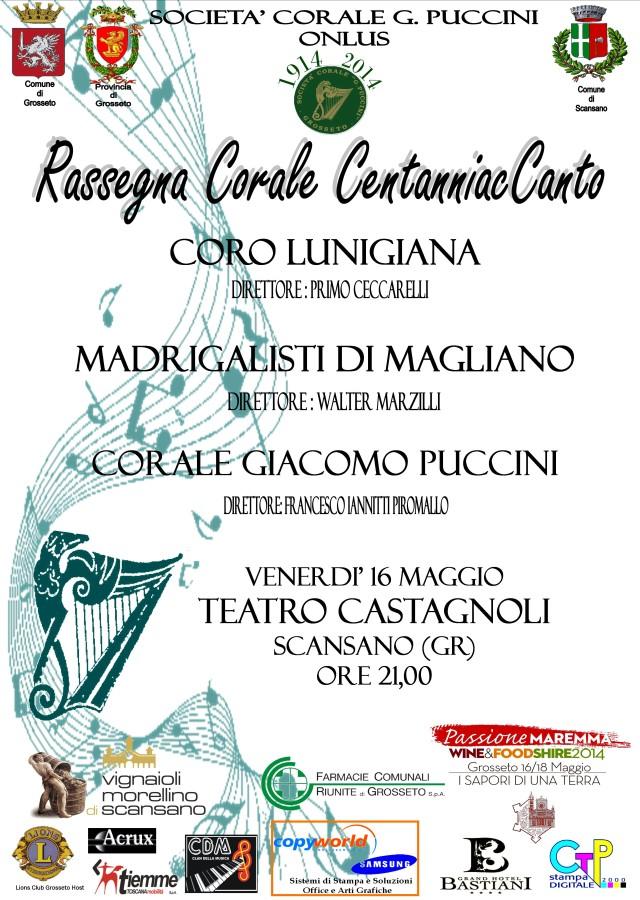 """Rassegna Corale """"CentanniacCanto"""""""