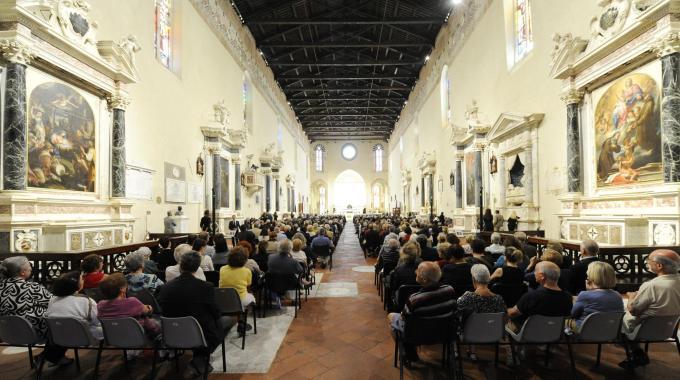 """..primo appuntamento """"settembrino"""": concerto a Lucca, oltre 200 coristi ma un'unica passione…la Musica!"""