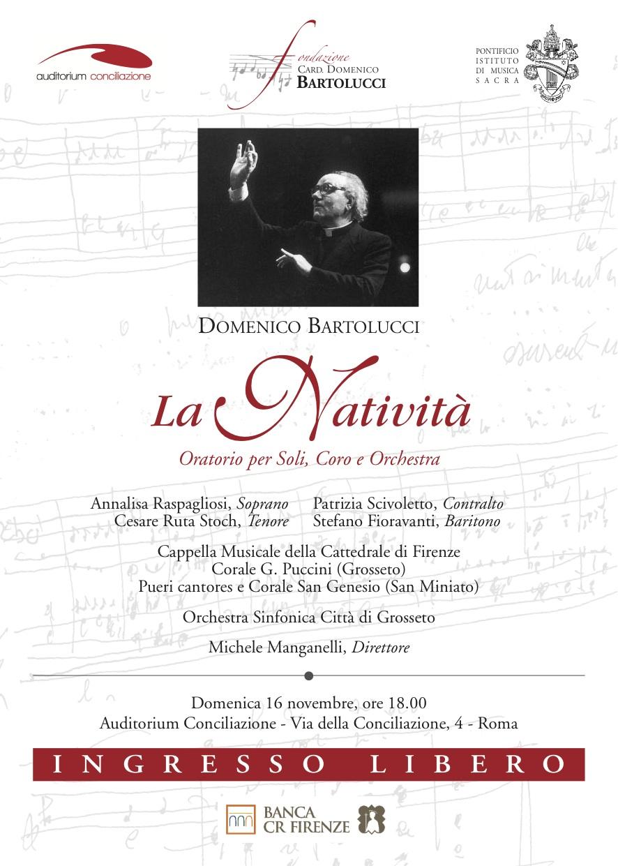 La Corale Puccini all'Auditorium Conciliazione di Roma: domenica 16 novembre ore 18:00