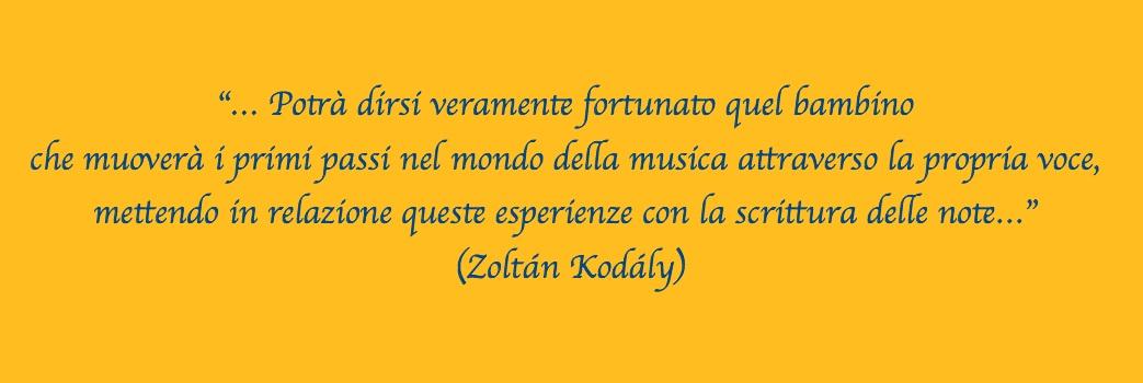 Zoltán Kodály e lo studio della Musica