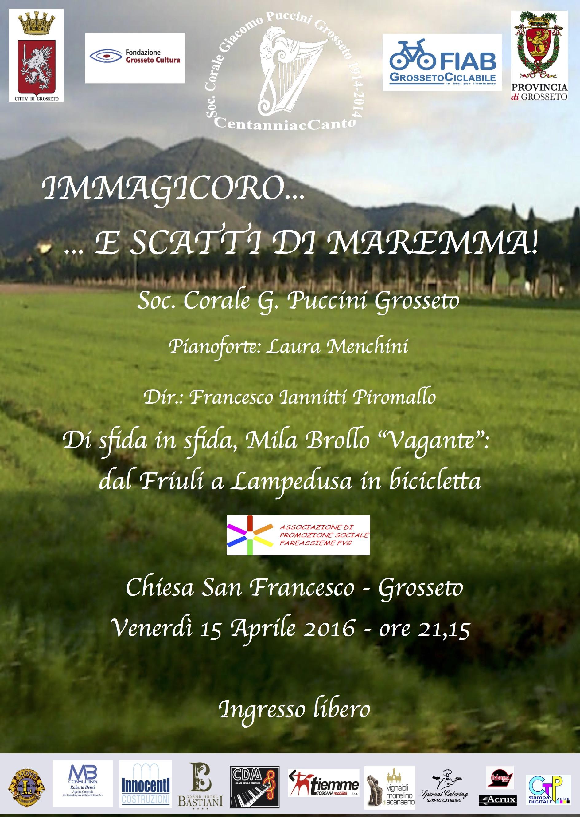 """""""Immagicoro e scatti di Maremma!"""" – Benvenuto a Grosseto a Mila Brollo """"Vagante""""!"""