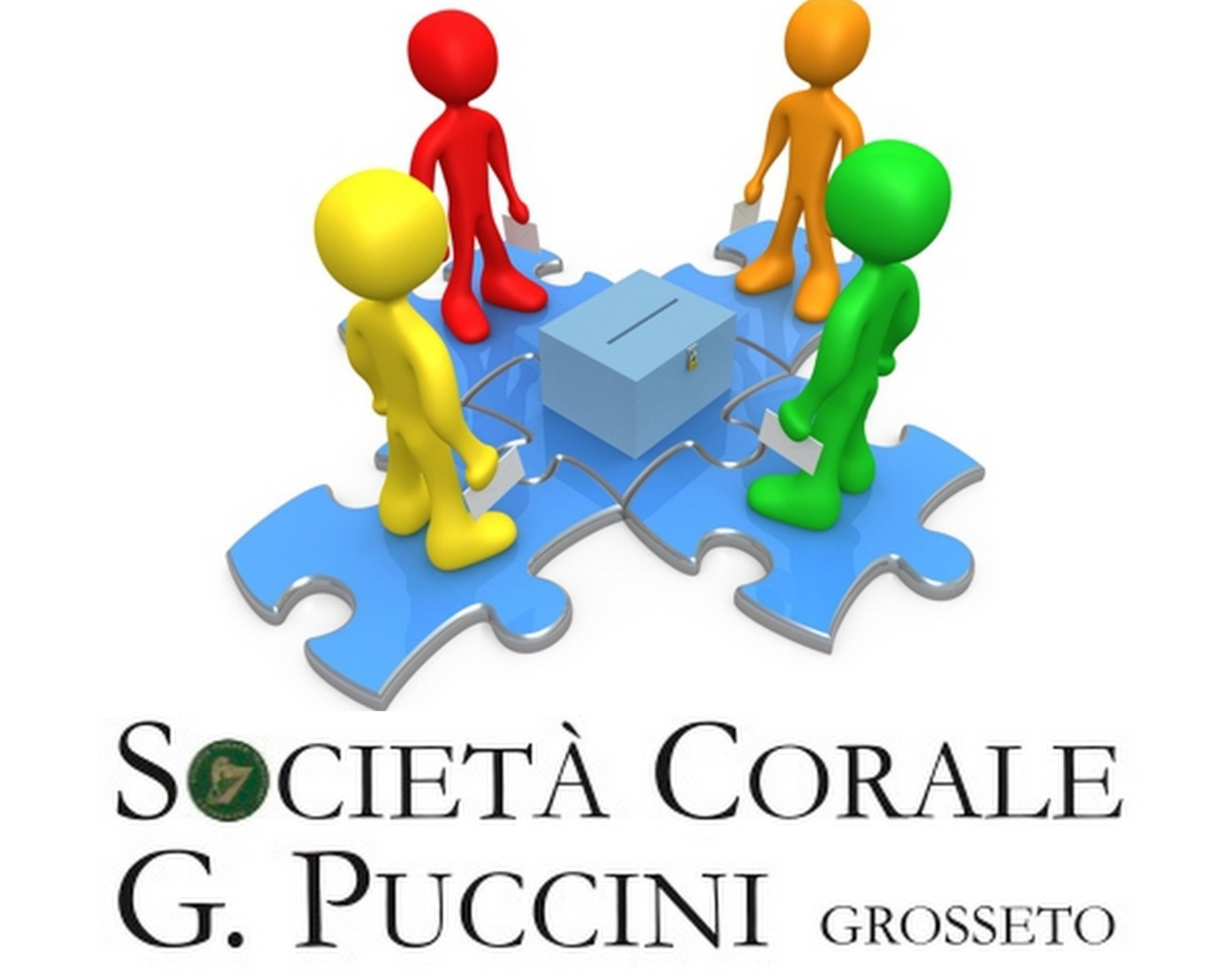 Soc. Corale G. Puccini Grosseto: 14 e 15 maggio – Rinnovo cariche sociali 2016/2018 –