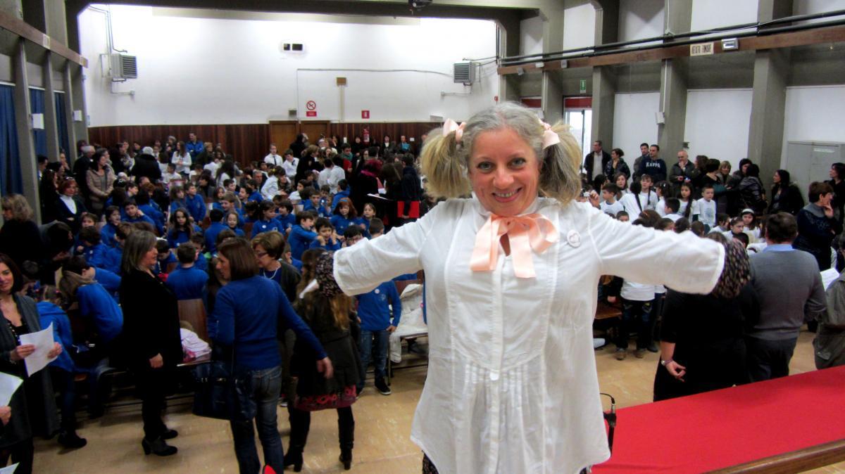 Zelinda Vacchiano, la discola presentatrice